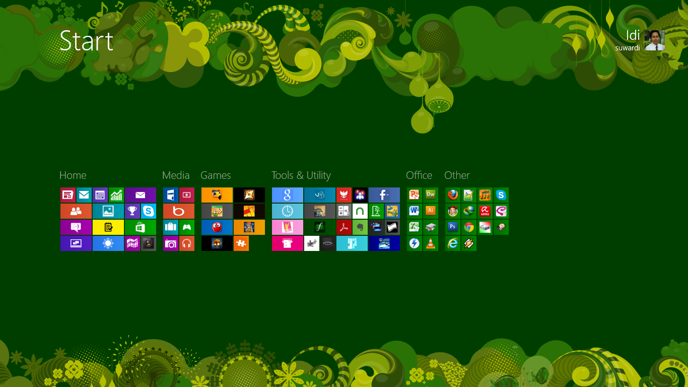 Membuat Grup pada Start Screen di Windows 8 « Mbah Windows